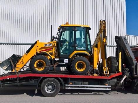 SOLT! Gépszállítás, traktor. targonca, mg. szerszám szállítás gépszállítóval 10T-ig! fotó