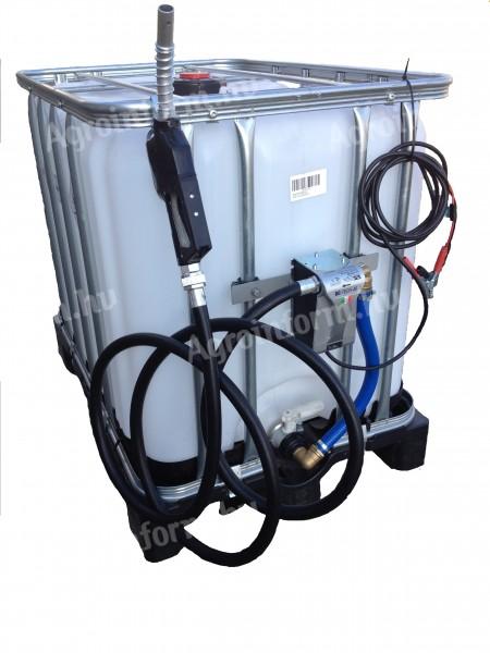 Komplett IBC 1000 ADR + Easy Tech 12V vagy 230V átfejtővel