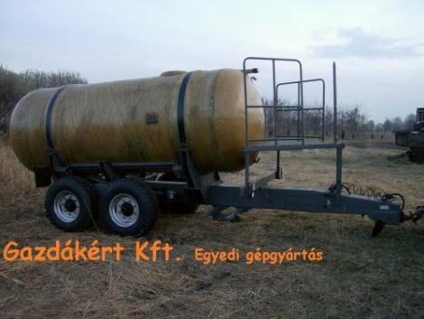 Nitrosol szállító, vízszállító tartálykocsik, 8-10m3 es eladó, ill rendelhetők fotó