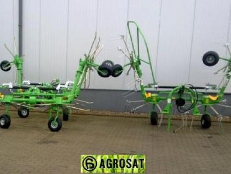 Rendkezelő, rendforgató 5, 6m négy rotoros hidr. csukás ! eszállító importőr Agrosat Gépker fotó