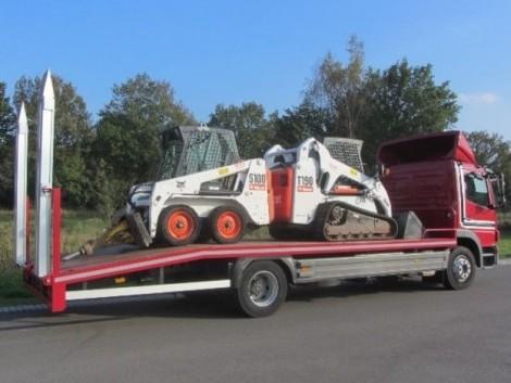 Siófok! Gépek szállítása! Fuvarozás! Traktor targonca pótkocsi szállítás! fotó