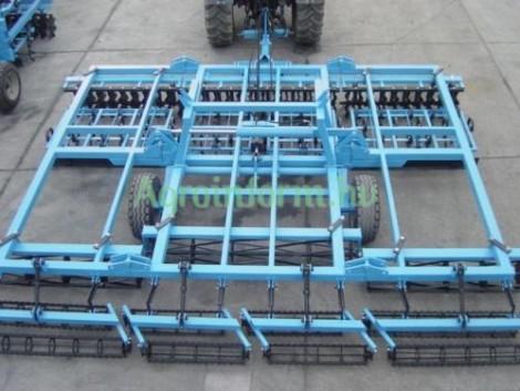ÚJ - 3, 6 m-es, vontatott tárcsás kombinátor (KOMPAKTOR) kedvező áron! fotó