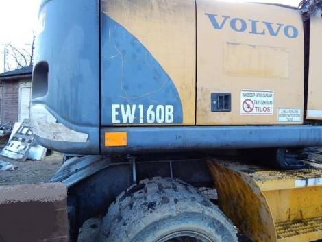 Volvo EW 160 B forgókotró fődarabokban fotó