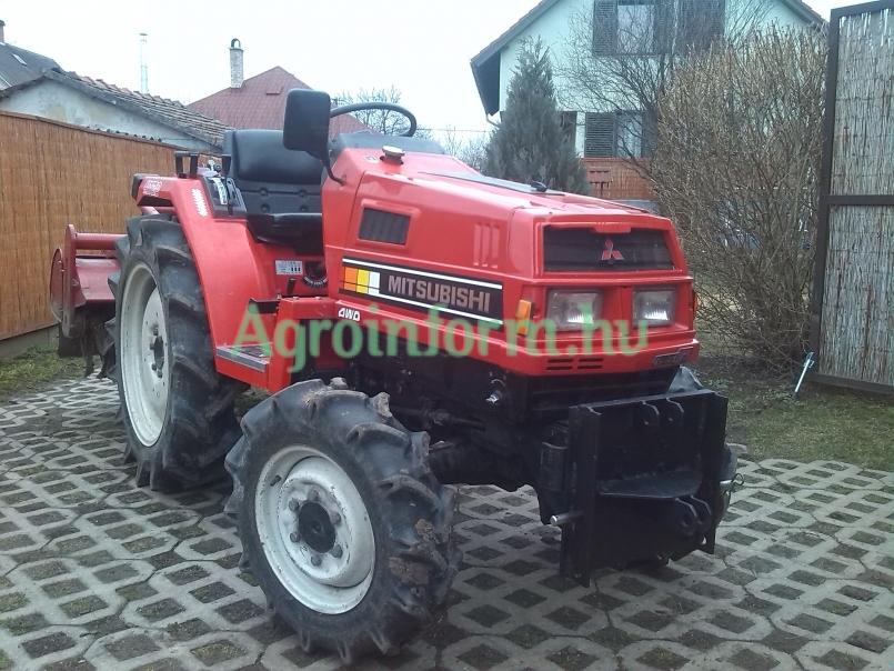 Mitsubishi MT20 kis traktor (lejárt) - kínál - Debrecen - 2.000.000 Ft - Agroinform.hu