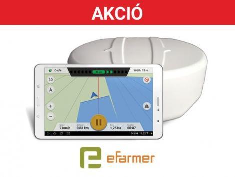 Mobil alkalmazás és GPS antenna fotó