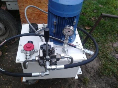 hidraulika tápegység eladó fotó