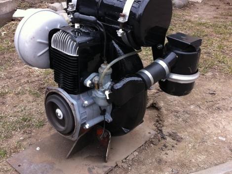 MF-70 2T GUTBROD Felújított benzin MOTOR fotó