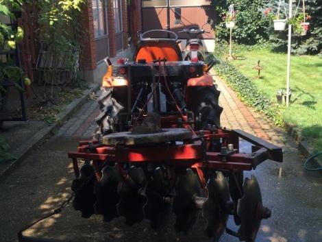 Újszerű állpotú, KUBOTA A 155-ös traktor ELADÓ! fotó
