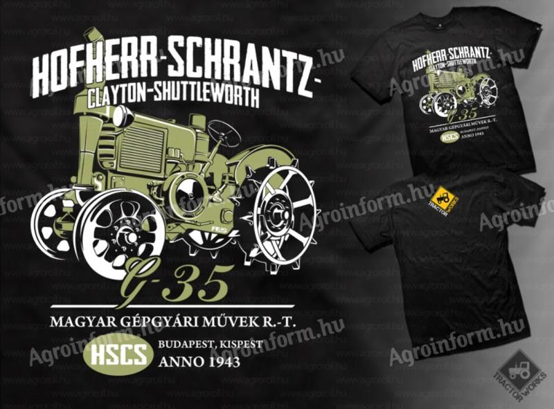 02e197d370 Hofherr G35 traktoros póló eladó (aktív) - kínál - Debrecen - 2.299 Ft -  Agroinform.hu