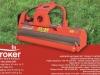 DRAGONE VP 240 hidraulikus kertészeti mulcsozó 8-10 cm ágátmérőig