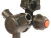 ARAG 3-as fúvókatartó,bajonettes,membránzáras,forgatható nedves szórókerethez