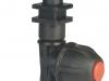 ARAG 413 Egyes fúvókatartó membránzáras,átmenő,bajonettes, száraz szórókerethez