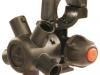 ARAG 5-ös fúvókatartó,bajonettes,membránzáras,forgatható száraz szórókerethez