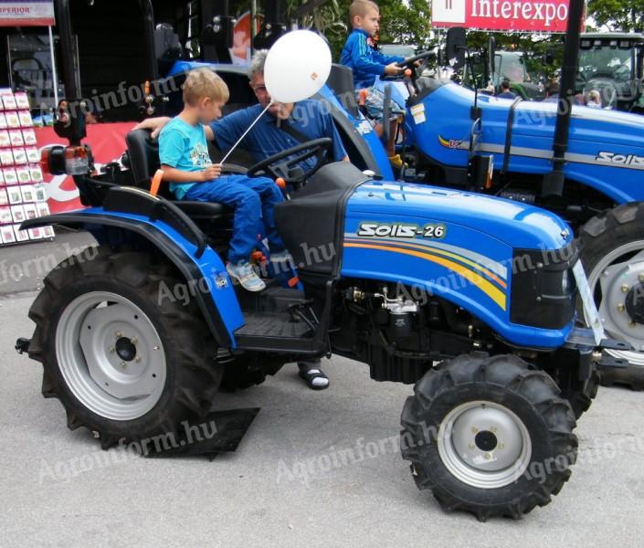Solis 26 traktor ára