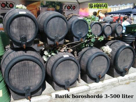 Boroshordó Barik 200 literes ! Parafínozott belső ! agrosat fotó