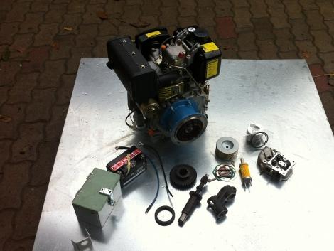 MF 70 10Le DIESEL Motor fotó