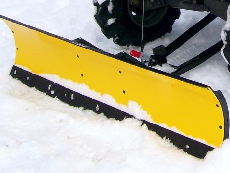 Quadra-traktorra szerelhető 125 cm-es hótolólap fotó