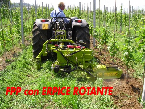 Calderoni FPF oldalazó talajmaró fotó