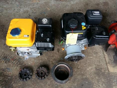 MF 70 -hez Új 4ütemű Benzin motor -szett Garanciával MF-70 MF70 fotó