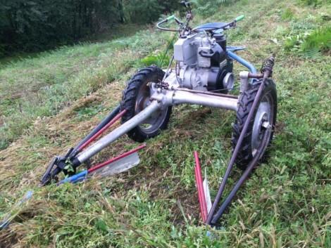 BCS dizel kasza traktor eladó fotó
