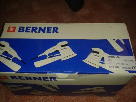 Berner BROS 150 excenter csiszoló ÚJ! fotó