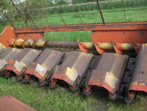 Oros 6011 kukorica adapter fotó