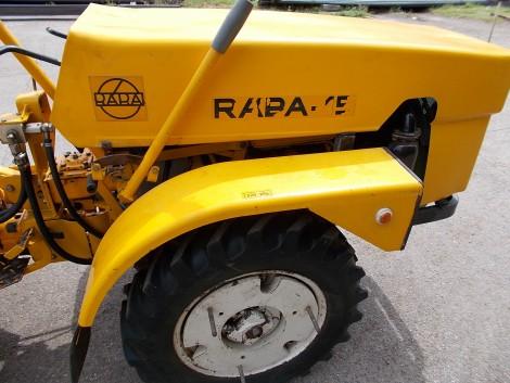 eladó a képen látható rába-15 eredeti, gyári kifogástalan állapotú kis traktor. fotó