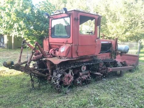 Eladó DT-75 lánctalpas dózer traktor fotó