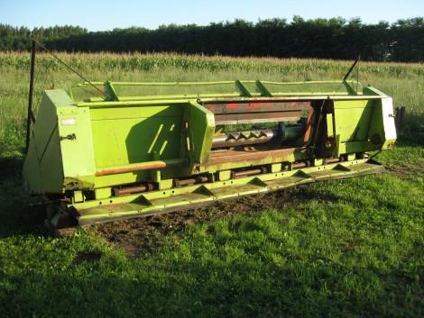 Oros 6011 SA kukorica adapter fotó