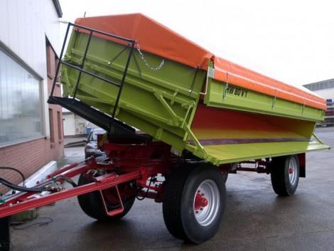 HW 80 V1 Pótkocsi fotó