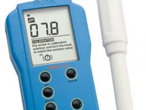 HI 9811‐5 Mezőgazdasági pH-mérő és EC/TDS-mérőműszer fotó