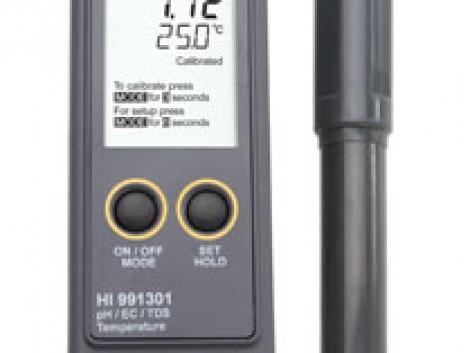 HI 991300 Mezőgazdasági pH-mérő és EC/TDS-mérőműszer fotó
