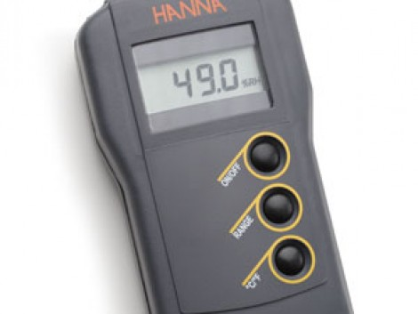 HI 93640 Hordozható hőmérséklet- és páratartalom-mérő fotó