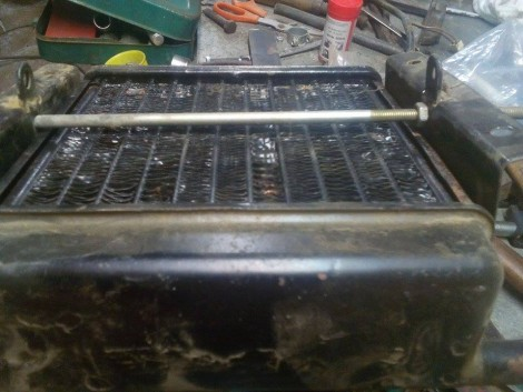 MTZ fűtőradiátor eladó! fotó