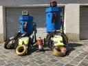 Homokfúvó,  Homokszóró Szemcseszóró 100 vagy 200 Literes ÚJ Clemco felszereltség