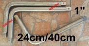 Hajtószár 1 Krova Hajtókar 1 colos,  40 és 45cm hajtószár hossz