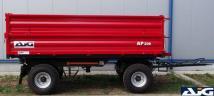 AJG AP 206 6,3 tonna teherbírású billenő kocsi