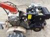 HONDA F400 F600 ÚJ DIESEL MOTOR SZETT KISTRAKTOR TRAKTOR ROTAKAPA ROTÁCIÓS KAPA
