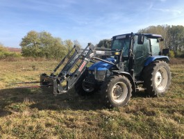New Holland TL 90 rakodóval