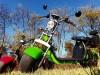 Elektromos chopper scooter