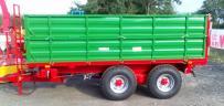 Gomar(lengyel) 7 tonna terhelhetőségű tandem pótkocsi kedvező áron!Házhoz szálltással