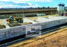 Ömlesztett tároló előregyártott multi-BLOKK betonelemből