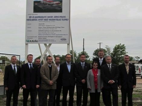Új AXIÁL központ építése kezdődik Szolnokon