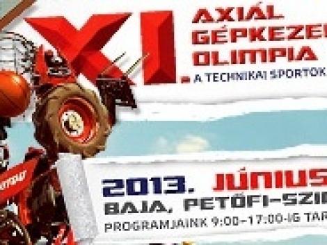 Celebek a XI. Axiál Gépkezelői Olimpián