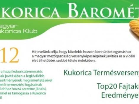 Kukorica barométer