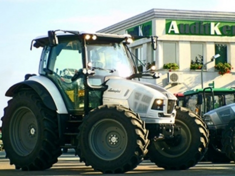 Megérkezett az első Nitro traktor a Lamborghinitől