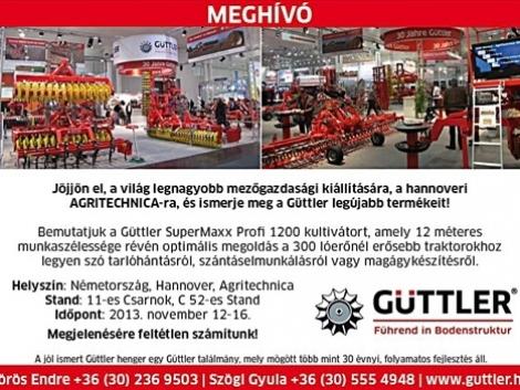 Güttler® SuperMaxx Profi® – a sokoldalú kultivátor