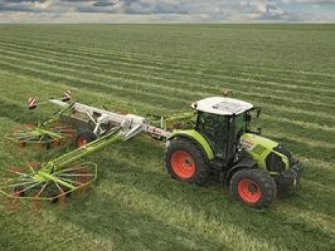 ARION 500/600 CMATIC néven új fokozatmentes traktor váltót mutat be a CLAAS