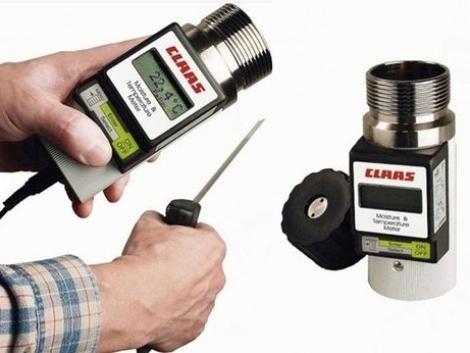 Fél százalék pontosságú gabonaszem-nedvességmérő a CLAAS-tól