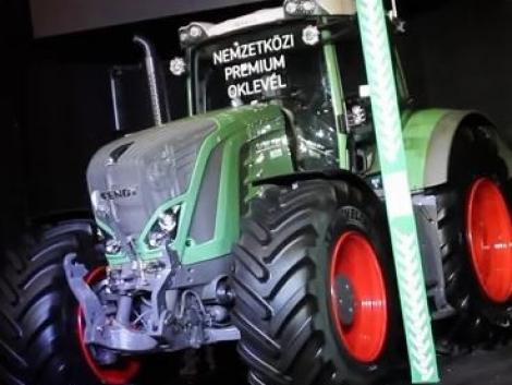 Díjazták a Fendt 900 Vario S4 traktort (+VIDEO)